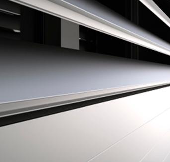 Persiana de aluminio orientable